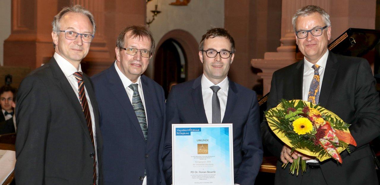 """Anette Michel H röntgenpreis"""" goes to florian beuerle - institut für"""