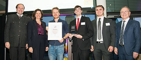 Fotografie der Preisübergabe des Medical Valley Awards